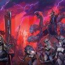 "Total War WARHAMMER II  18""x28"" (45cm/70cm) Canvas Print"
