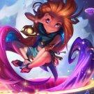 """Zoe League of Legends Game  18""""x28"""" (45cm/70cm) Canvas Print"""