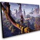 "Horizon Zero Dawn The Frozen Wilds  12""x16"" (30cm/40cm) Canvas Print"