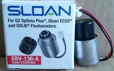 Sloan 3325453 Optima Plus Replacement Solenoid Operator Part EBV-136-A