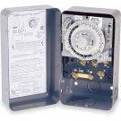 Paragon Defrost Timer Control 8141-00, 24 Hour, 1 N.o. 2 N.c. 40 Amp 120v 60 Hz