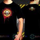 Black Concert T Shirt Guns N Roses  S to 3XL A7
