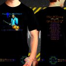 Paul McCartney Tour Dates Black Concert T Shirt to 3XL A25
