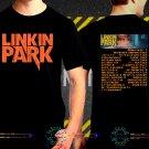 Linkin Park One More Light Tour Date 2017  Black Concert T Shirt S to 3XL A29