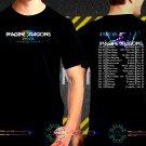 Imagine Dragons Evolve Tour Date 2017  Black Concert T Shirt S to 3XL A50