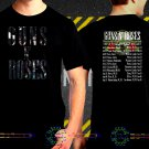 Guns N Roses Not In This Lifetime Tour Date 2017  Black Concert T-Shirt S to 3XL GNR4