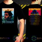 The Weeknd Tour Date 2017  Black Concert T-Shirt S to 3XL TheW10