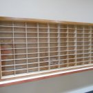 Showcase, Wall Display case cabinet for 1/64 scale cars (hot wheels, matchbox) W