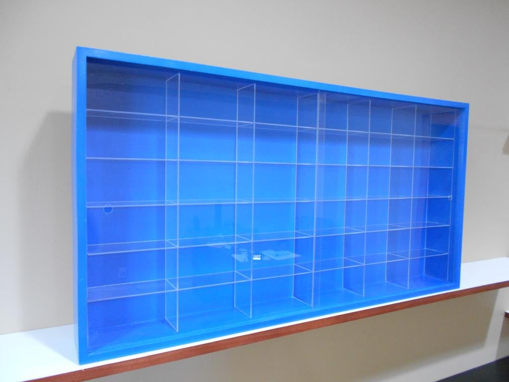 Showcase, Wall Display case cabinet for 1/43 diecast scale cars