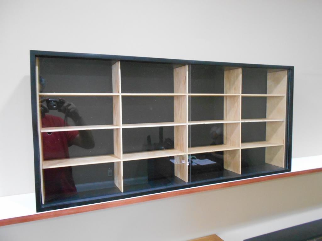 Showcase, Wall Display case cabinet for 1/25 scale diecast cars