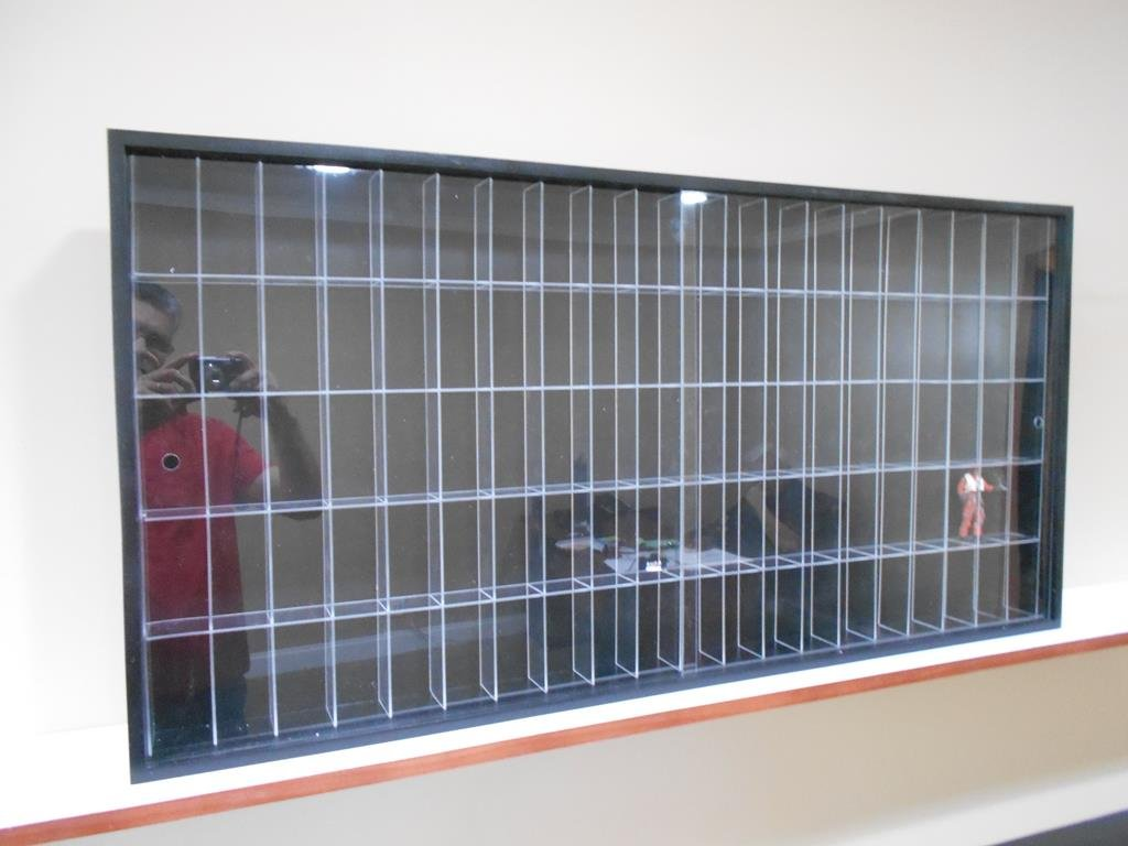 Showcase, Wall Display case cabinet for star wars or action command figures