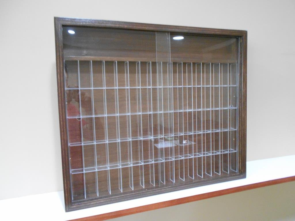 Showcase, Wall Display case cabinet for LEGO minifigures