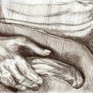 Hand II - Original Pen & Ink Drawing