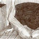 The Invitation - Original Pen & Ink Drawing