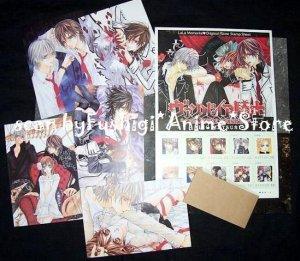 Matsuri Hino VAMPIRE KNIGHT LaLa Zenin Memorial Stamp Postcard File Set Japan