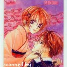 Matsuri Hino TORAWARE NO MINOUE CAPTIVE HEART Megumi & Suzuka Laminated Card #5