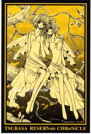 CLAMP TSUBASA RESERVOIR CHRONICLE Japan Collection Official Postcard #4