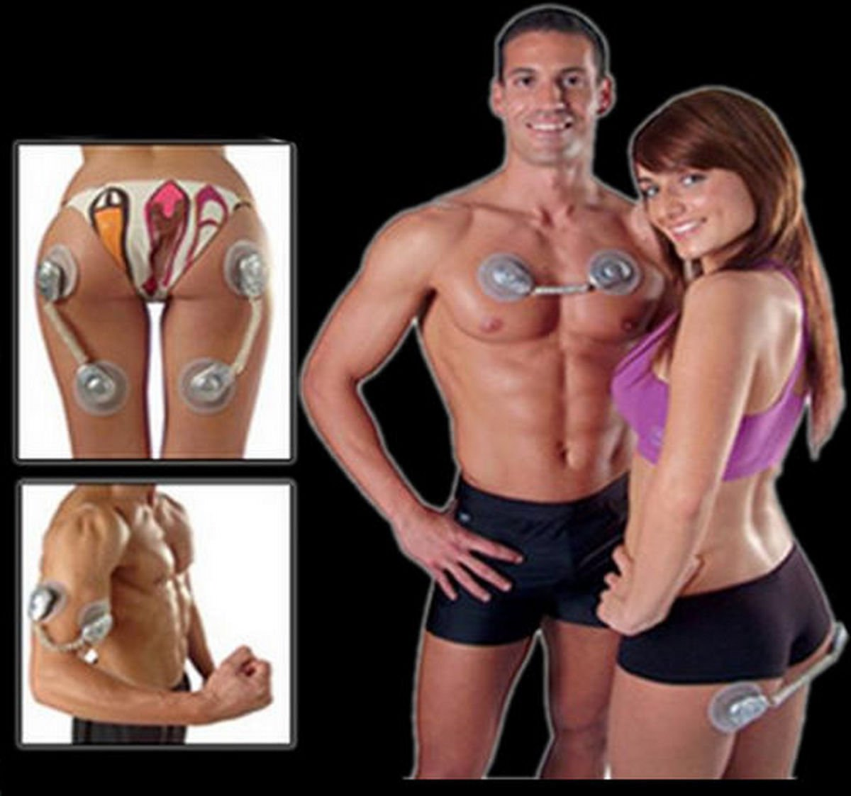 GYM FORM DUO Electronic Muscle Toner Fitness System Body Massager As Seen On TV