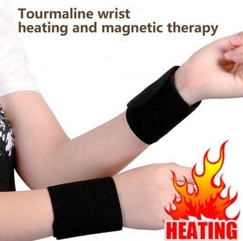 Tourmaline Far Infrared Ray Heat Health Pain Relief Wrist Brace Support Strap