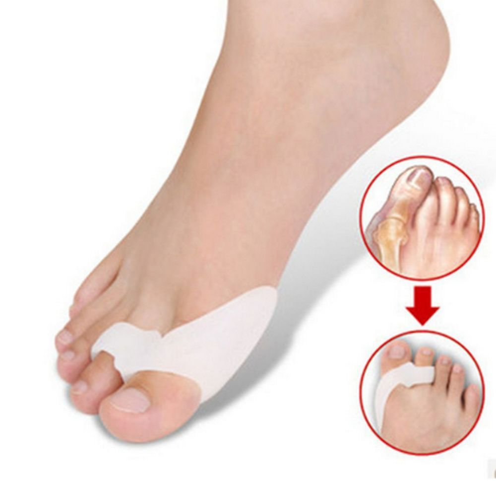 1 Piece Gel Toe Separator Support Bunion Pain Relief Unisex Foot Care Aid Reuse