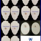 +BONUS 12 X REPLACEMENT ELECTRODE PADS LG for PALM ECHO DIGITAL MASSAGER TENS