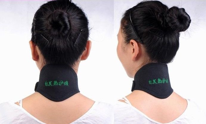 New Tourmaline Far Infrared Ray Heat Health Neck Brace Support Strap Pain Relief
