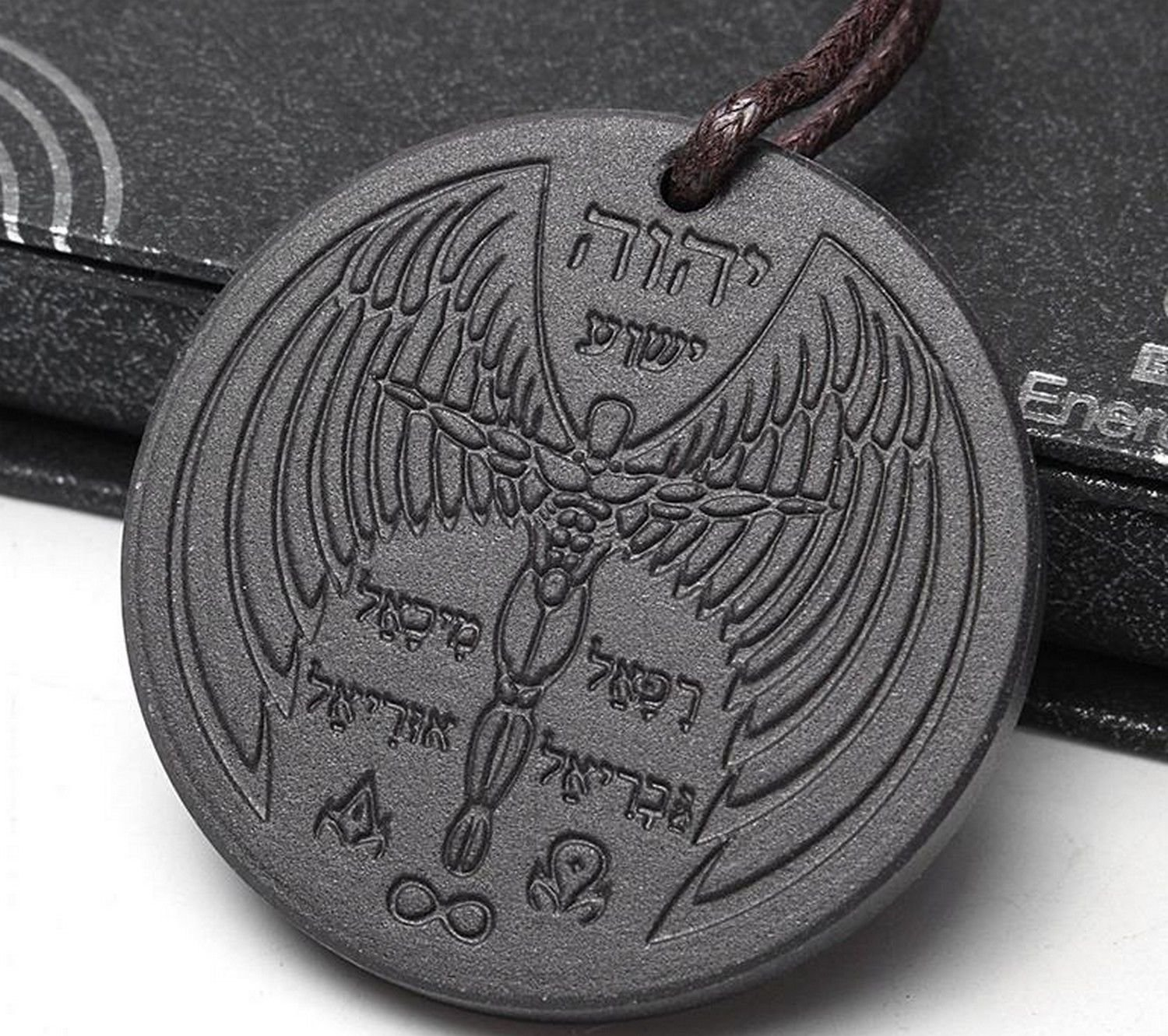 Scalar Bio Energy Quantum Angel Pendant Archangel Necklace Magnetic Health NIB