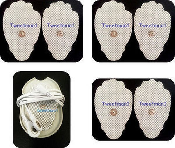 +BONUS! REPLACEMENT ELECTRODE PADS (6 LARGE SIZE)FOR TENS DIGITAL PULSE MASSAGER