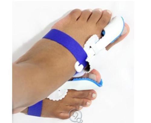 Lot of 2pc-1 Pair Adjustable Bunion Splint Toe Brace Hallux Valgus Foot Care
