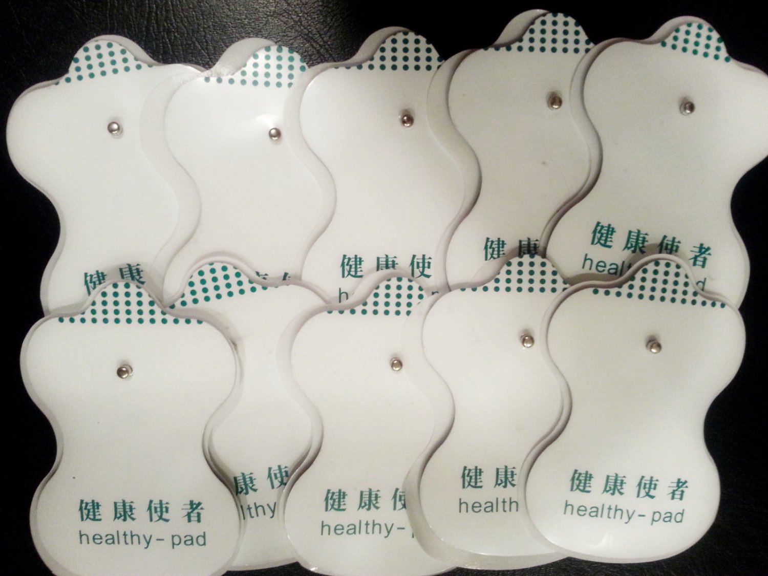 Healthy Pads Replacement Electrodes (10) for Digital Massager, Health Herald