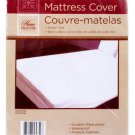 "QUEEN SIZE MATTRESS COVER PROTECTOR, Plastic WATERPROOF w/ 12"" Pocket Depth"