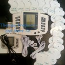 +BONUS FULL BODY DIGITAL MASSAGER TENS WITH DUAL & QUAD CABLE+ 16 PADS +AC POWER