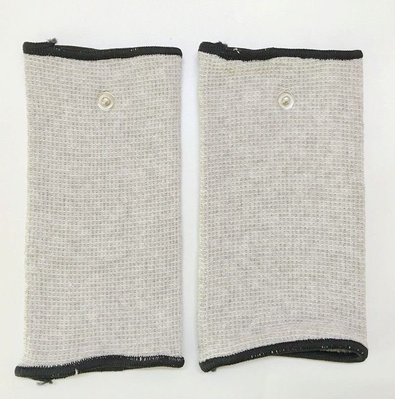 +BONUS!+ CONDUCTIVE SLEEVES FOR ARM LOWER LEG 1 PAIR TO RELIEVE STRESS PAIN NEW