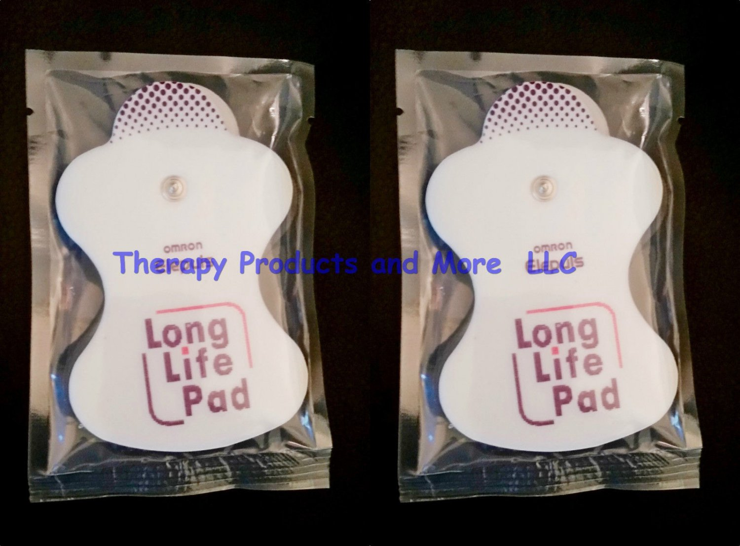 4 x Electrode Replacement Pads for OMRON Massager ElectroTHERAPY Elepuls PMLLPad