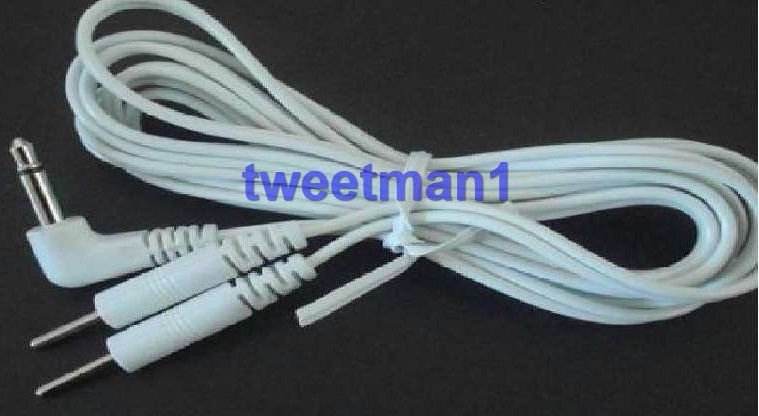 ELECTRODE LEAD WIRES 3.5mm COMPATIBLE W/for Rhythym Touch Massagers