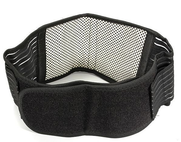 Low Back Support Brace Belt (Large -XL) Tourmaline Far Infrared Self Heating New
