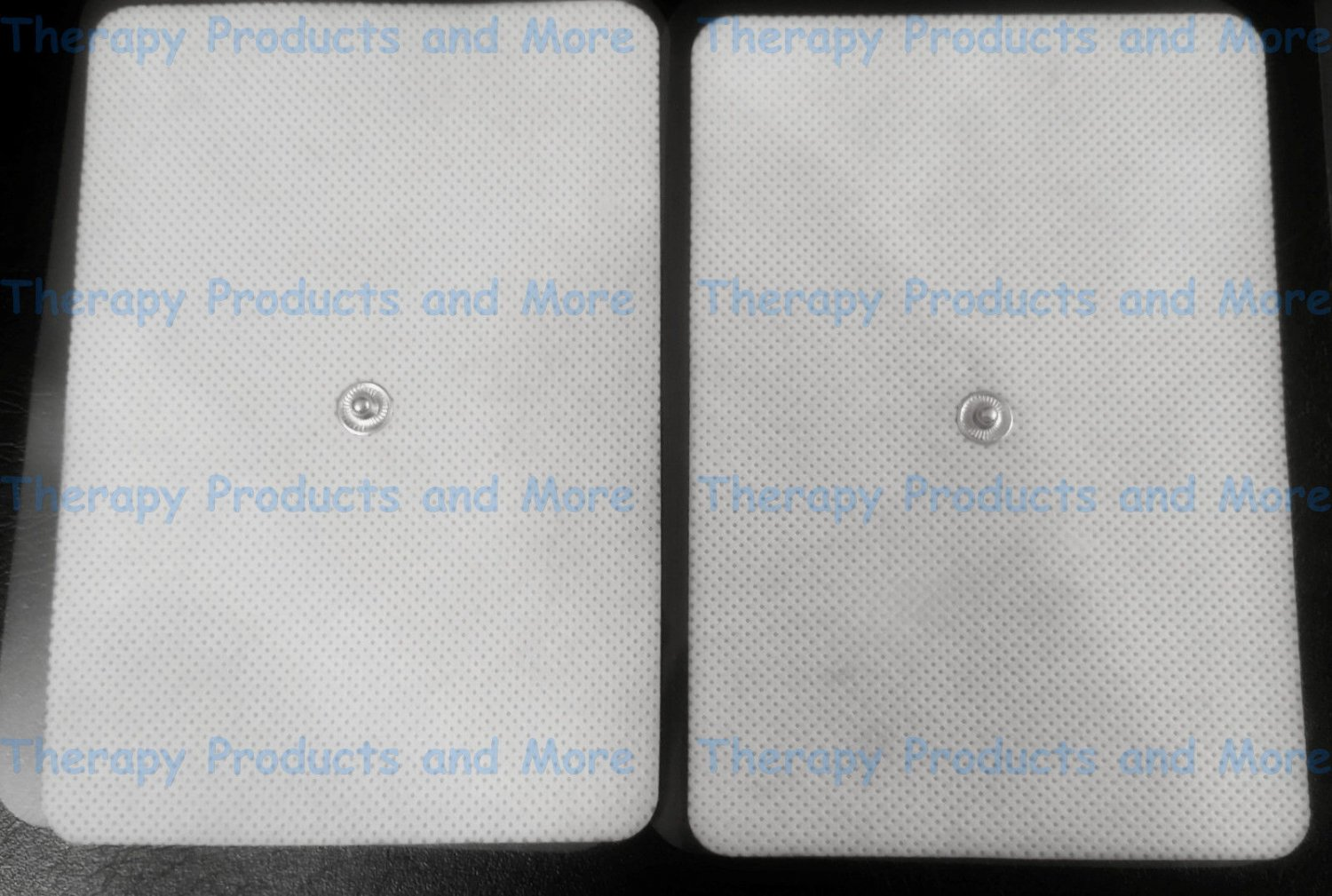 2 EXTRA WIDE BIG ELECTRODE MASSAGE PADS FOR IREST IQ SMART RELIEF HDOW TENS EMS