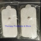 XL LONG MASSAGE PADS ELECTRODES (8) FOR USE WITH DIGITAL MASSAGER TENS