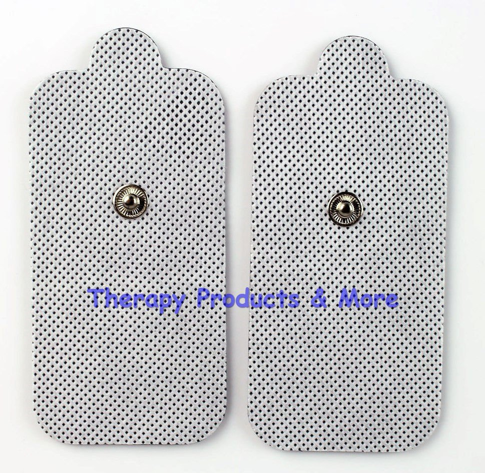 XL Replacement Electrode Pads (8) Extra X-Large for PCH Digital Massagers TENS