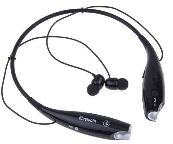 Bluetooth Handsfree Wireless Sports Stereo Headset Headphones For Smartphone New