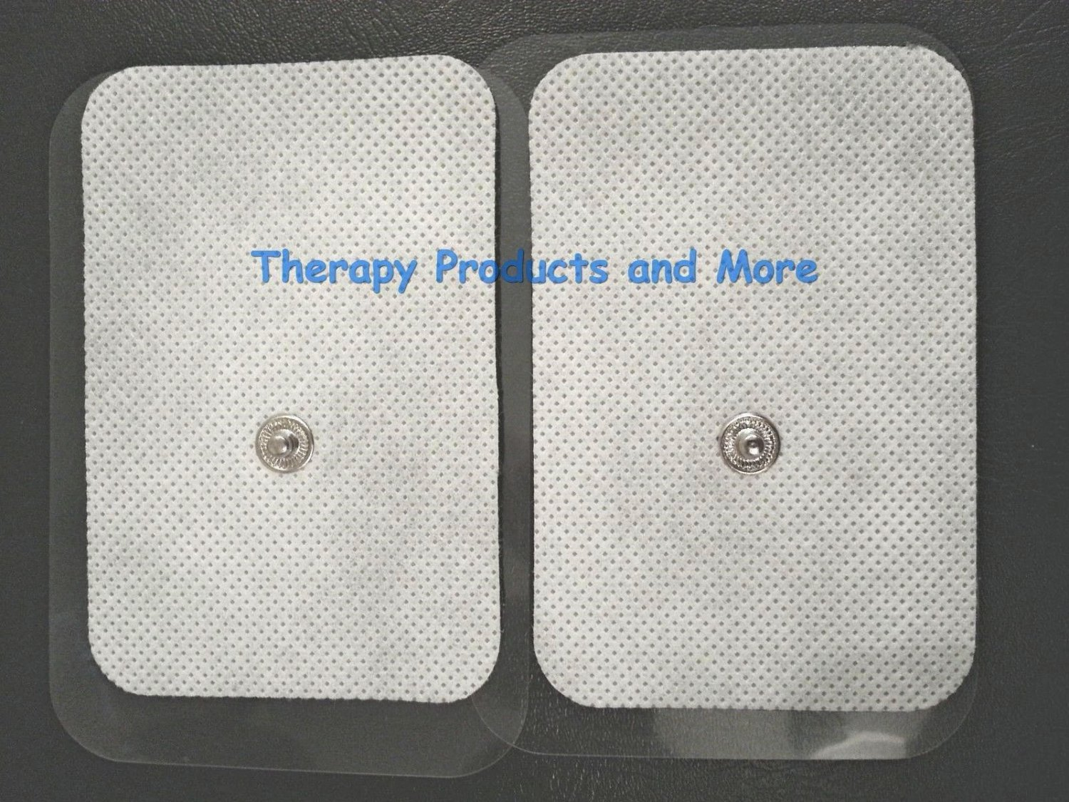 XL WIDE REPLACEMENT ELECTRODE MASSAGE PADS(8) (9X6CM) iSMART RELIEF COMPATIBLE