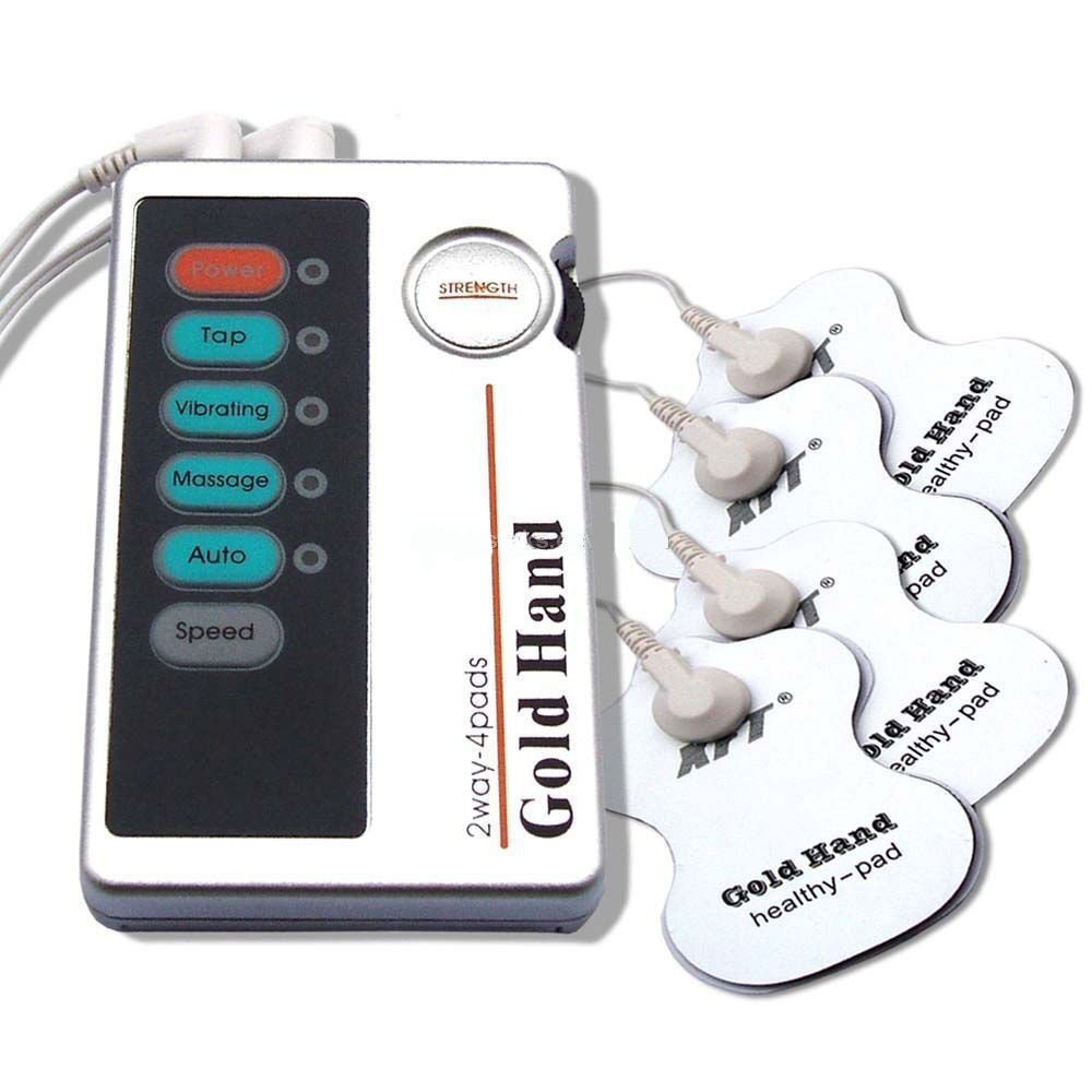 DIGITAL TENS STYLE LOW FREQUENCY THERAPY MASSAGER MACHINE +4 MASSAGE PADS