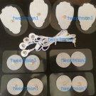 ELECTRODE LEAD CABLE (2.5mm) + PADS (8 LG, 8 SM) ISMART COMPATIBLE