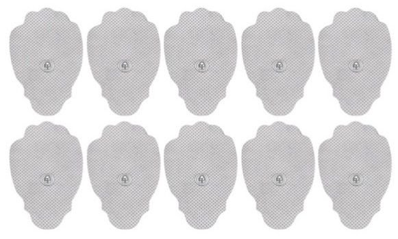 10 Refill Pads - IQ and Smart Relief Massager Pads Electrode Pads TENS Machine
