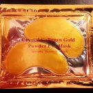 2 Pairs, Crystal Collagen Gold Eye Mask Reduce Eye Wrinkles Bags & Dark Circles
