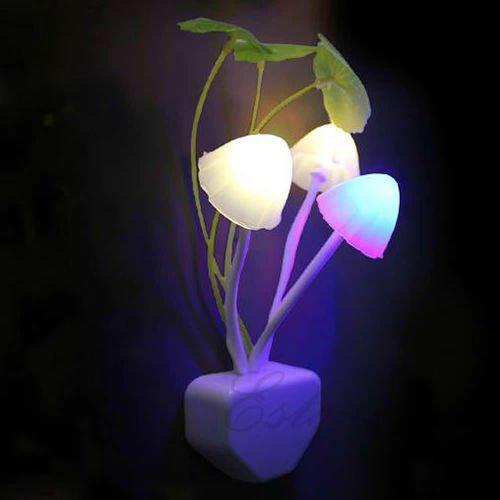 Romantic Color Changing Mushroom LED Night Light NightLite New