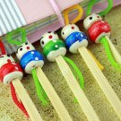 Japanese Handmade Bamboo Earpick (10 Pcs) Clean Wax Removers with Doll Heads