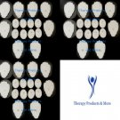 REPLACEMENT ELECTRODE PADS (24 LG, 24 SM OVAL)FOR ELIKING DIGITAL TENS MASSAGER