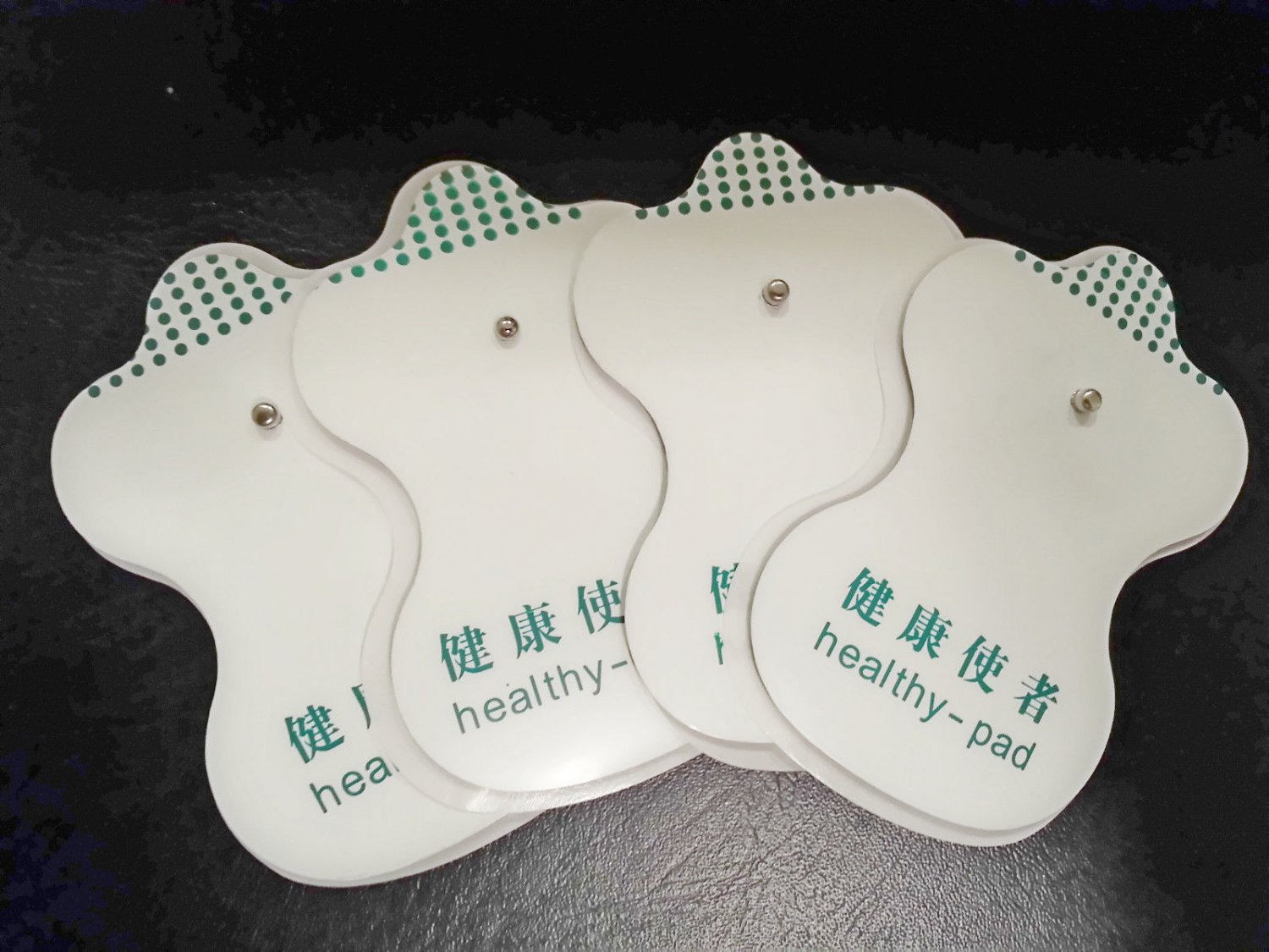 Electrode Pads (4) for Digital Massage / TENS / Electronic Physiotherapy
