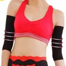1 Pair Slimming Compression Arm Shaper Sleeves Workout Toning Burn Cellulite